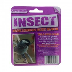 Suet Block, 320g - Insect