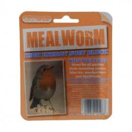 Suet Block, 320g - Mealworms
