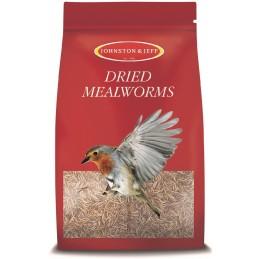 Mealworms - Dried, J&J, 500g